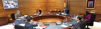 El presidente del Gobierno, Pedro Sánchez, durante la reunión del Consejo de Ministros celebrada en La Moncloa  Foto: fotobpb
