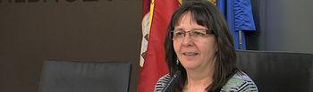 Victoria Delicado, portavoz de Izquierda Unida en el Ayuntamiento de Albacete
