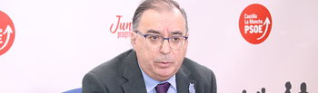 Fernando Mora, presidente del Grupo Parlamentario Socialista.