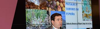 Carlos Cabanas: las figuras de calidad diferenciada dibujan el mapa de la alimentación, la gastronomía y el turismo en España. Foto: Ministerio de Agricultura, Alimentación y Medio Ambiente