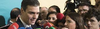 Pedro Sánchez en el Dia de Andalucía