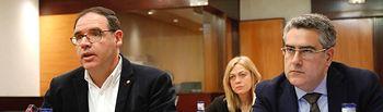 Comisión de estudio contra la despoblación que se ha celebrado en las Cortes de Castilla-La Mancha.