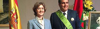 García Tejerina subraya el indudable compromiso del ministro Aziz Akhannouch para consolidar las relaciones de amistad entre España y Marruecos. Foto: Ministerio de Agricultura, Alimentación y Medio Ambiente