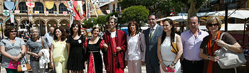 Ángela Moreno Mercado Medieval San Clemente I. Foto: JCCM.