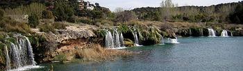 Imagen del Parque Natural de las Lagunas de Ruidera.