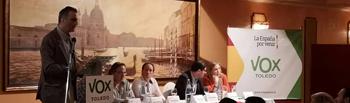 Presentación de Coordinadores Provinciales de Vox Toledo