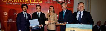 Gala de entrega de los XIII Premios Taurinos Samueles organizados por el Grupo Multimedia de Comunicación La Cerca. Foto: Luis Vizcaíno