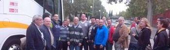 Trabajadores de Grupo Tragsa en Toledo