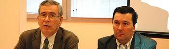 Pedro Carrión y Gerardo Marquet