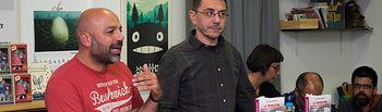 """Presentación del libro \""""La transición contada a nuestros padres\"""" de Juan Carlos Monedero"""