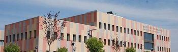 Exterior de la Facultad de Medicina de Ciudad Real.