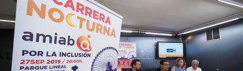 Presentación 1ª Carrera Nocturna por la inclusión. Foto: La Cerca - Manuel Lozano Garcia