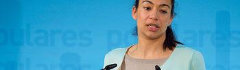 Claudia Alonso, portavoz del PP-CLM