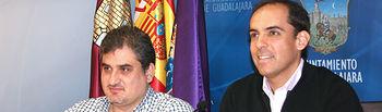 Ángel Portero y Daniel Jiménez.