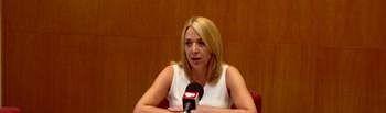 Antonia Millán, concejal de Empleo y Promoción Económica en el Ayuntamiento de Almansa.