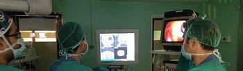 El Hospital de Puertollano ofrece las ventajas del neuronavegador a un paciente con sinusitis frontal. Foto: JCCM.