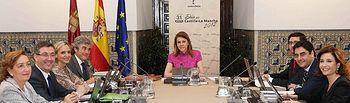 Consejo de Gobierno de la Junta de Comunidades de Castilla-La Mancha. Foto: JCCM.