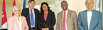 Gálvez ha recibido esta semana a la viceministra de Sanidad de Mozambique, Nazira Vali Abdula