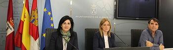 Rueda del prensa del Grupo Municipal Ciudadanos en el Ayuntamiento de Albacete.