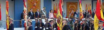 Día de la Fiesta Nacional. Foto: Ministerio de Defensa de España.