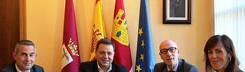 Firma convenio Ayuntamiento de Albacete- El Corte Ingles.