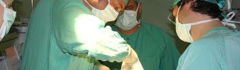 Imagen de una intervención realizada por la Unidad de Odontología Especial para discapacitados del Hospital Virgen de Altagracia de Manzanares (Ciudad Real).