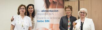 La Gerencia de Atención Integrada de Albacete conciencia sobre la incompatibilidad del alcohol durante la lactancia