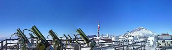 Izaña AERONET Calibration. Foto: Ministerio de Agricultura, Alimentación y Medio Ambiente