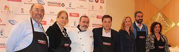 Manuel Serrano destaca el éxito del taller de cocina 'Minimal Junior' celebrado en Albacete con la participación cerca de medio centenar de niños y niñas de entre 7 y 12 años