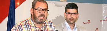 Eusebio Robles y Marcos Fernández.