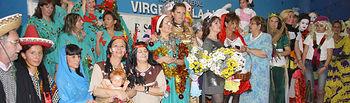 El Belén Viviente representado en el Hospital Virgen de la Luz de Cuenca dentro del programa de actividades navideñas.