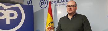 El portavoz del PP de Guadalajara, Lucas Castillo. Foto. PPGuadalajara.