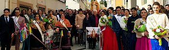 Santiago Cabañero visita Balazote con motivo de las fiestas de invierno de la localidad