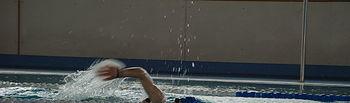 Natación en el Módulo Acuático del Campus de Toledo.
