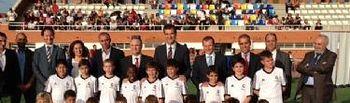 Presentación de la escuela sociodeportiva del Jerónimo de la Morena