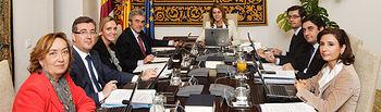 Cospedal preside Consejo Gobierno. Foto: JCCM.
