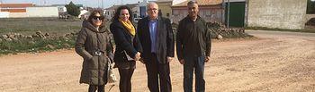 La Junta visita los terrenos de la helisuperficie de Viveros y asesora al Ayuntamiento en materia de seguridad aérea