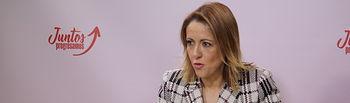 Cristina Maestre, portavoz del PSOE regional. Foto: PSOE CLM.