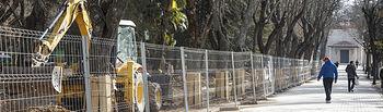 La renovación del Parque de San Roque de Guadalajara estará lista durante la primavera