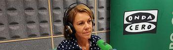 María Dolores Cospedal, presidenta del PP de Castilla-La Mancha y diputada nacional.