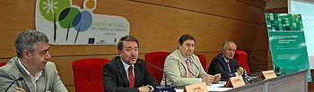 Imagen de la inauguración de las III Jornadas de Seguridad del Paciente en el SESCAM en Albacete
