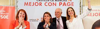 Borrell en Talavera de la Reina.