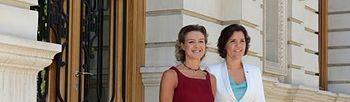 Isabel García Tejerina y Assunçao Cristas. Foto: MAGRAMA.