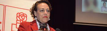 Magdalena Valerio, candidata al Congreso del PSOE por Guadalajara y ministra de Trabajo, Migraciones y Seguridad Social.