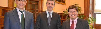 El presidente de la Diputación de Toledo se reúne con los directores de Globalcaja