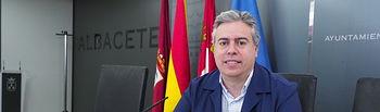 Julián Garijo, concejal de Obras Públicas en el Ayuntamiento de Albacete.