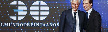 Pablo Casado y Adolfo Suárez Illana.