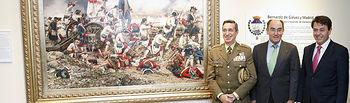 Iberdrola dona el cuadro 'Por España y por el Rey, Gálvez en Pensacola' al Museo del Ejército, en Toledo
