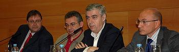 De izqda a dcha, Jacinto González, Javier Beneitez, Antonio Roncero y Francisco Cebrian.