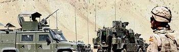 Militares españoles en Irak (Foto: Ministerio de Defensa)